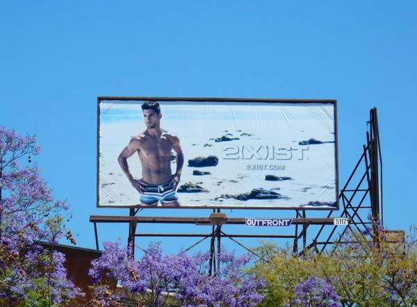 2Xist swimwear SS16 billboard