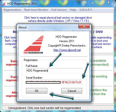 Fix lỗi bad sector ổ cứng HDD Regenerator 1.71 full key bản quyền | Tinh tế