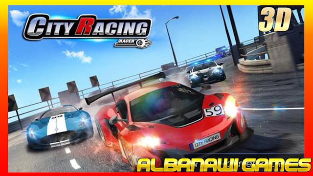 تحميل لعبة  City Racing 3D للأندرويد من الميديا فاير