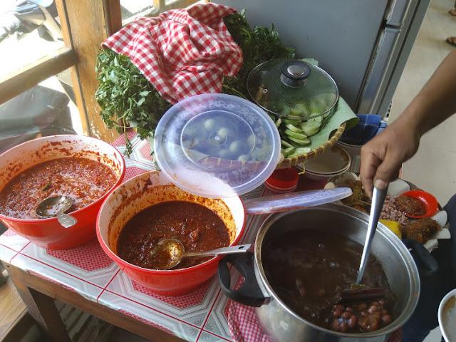 sop kacang merah warung nasi merenah