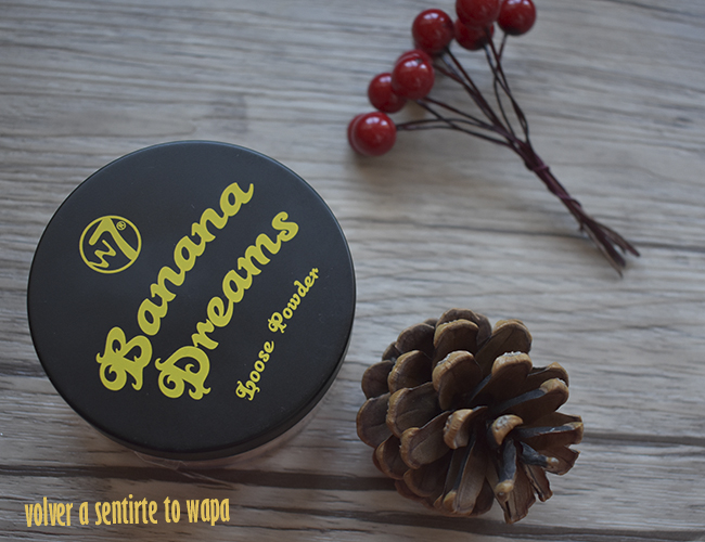 Polvos Banana Dreams Loose Powder de w7