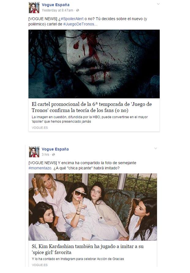 Noticias de Vogue España