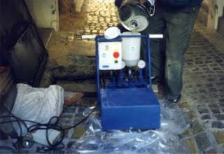 Pompa grouting elektrik model 2 komponen DV 97