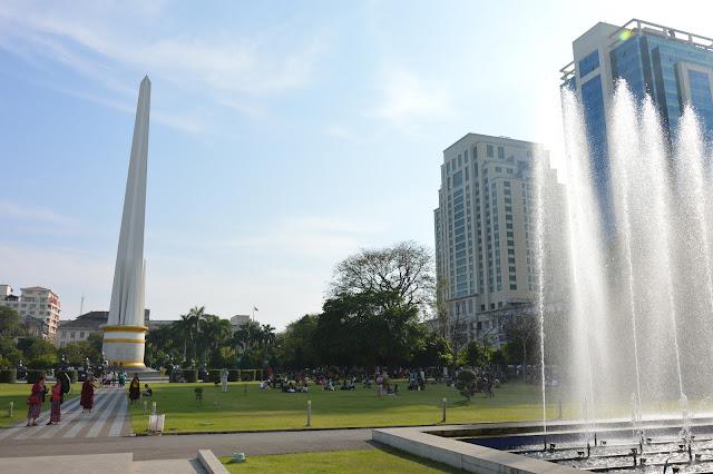 Monument de l'indépendance à Yangon