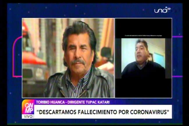 Fallece Felipe Quispe por paro cardíaco; desmienten que fuese por Covid-19