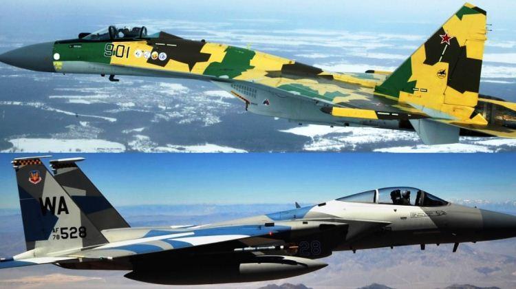Su-35 dan F-15