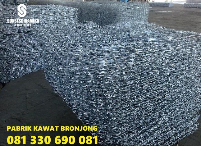 Pabrik Bronjong Kawat Jember,bronjong kawat pabrikasi manual jual harga murah pabrik