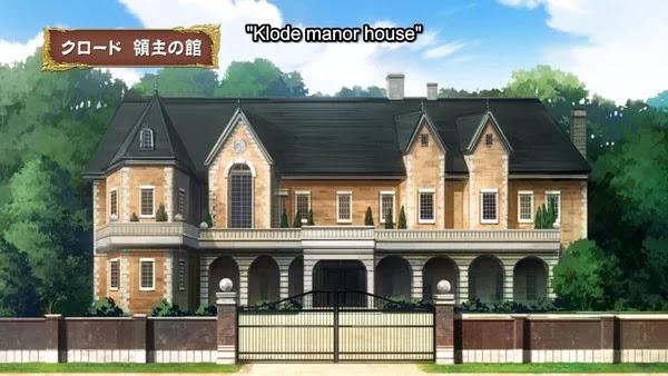 Gambar kedua adalah rumah manor Klode dari episode 9