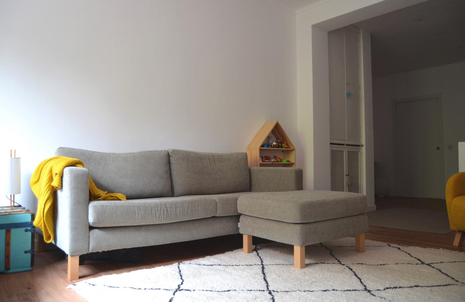Naifandtastic decoraci n craft hecho a mano - Funda sofa blanca ...