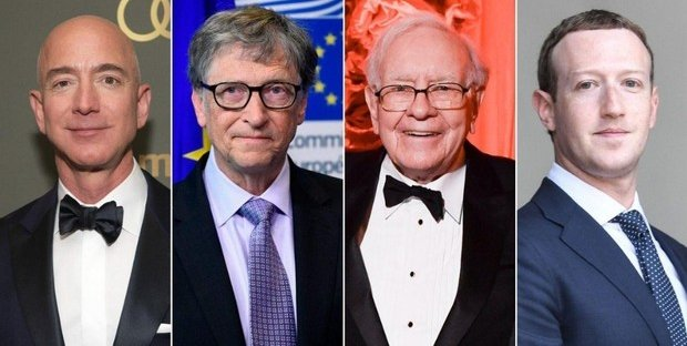Top 10 richest people in the world in 2020