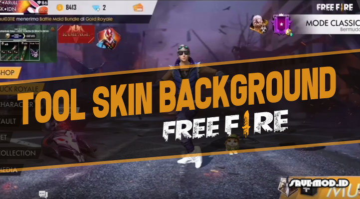 Tool Skin APK Background Free Fire