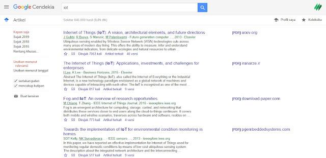 Apa itu Google Scholar (Google Cendikia)?