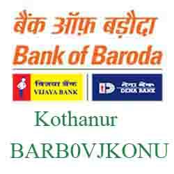Vijaya Baroda Bank Kothanur Branch New IFSC, MICR