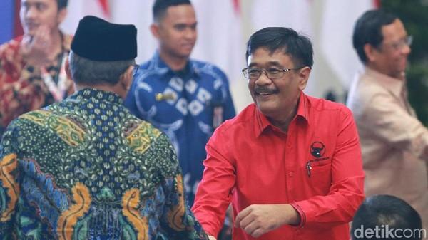 Eks Ketua PDIP Sumut Tersangka Suap Ditahan KPK, Djarot 'Seret' PKS
