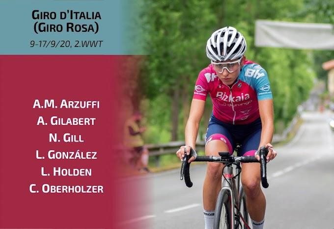 El equipo Bizkaia - Durango anuncia a las ciclistas que disputarán el Giro Rosa