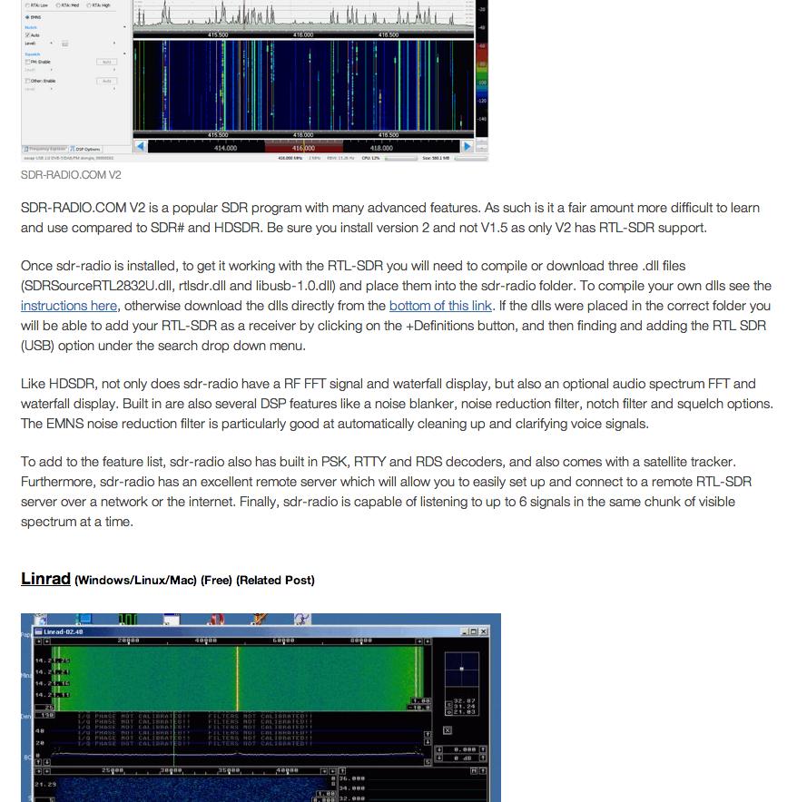 Radiopassioni: Ricevitori SDR: il catalogo (quasi completo