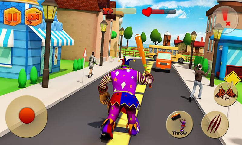 Creepy Clown Attack Apk v1.3 (Mod Money/Unlock)