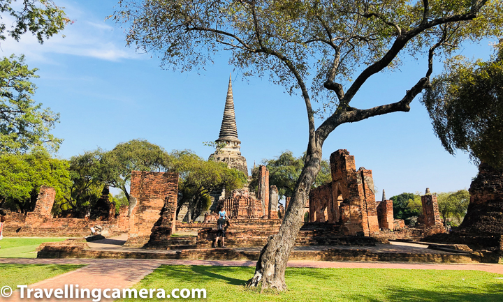 Wat Phra Si Sanphet was the holiest temple on the site of the old Royal Palace in Thailand's ancient capital of Ayutthaya until the town got destroyed by the Burmese. It seems that Wat Phra Si Sanphet was most beautiful temple in Ayutthaya and much grander in many ways. It seemed the same to me and I would say most appropriate place for photography in Ayutthaya.