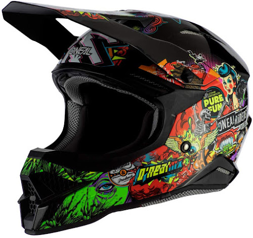 O'Neal 3 Series Unisex-Adult Off-Road Helmet