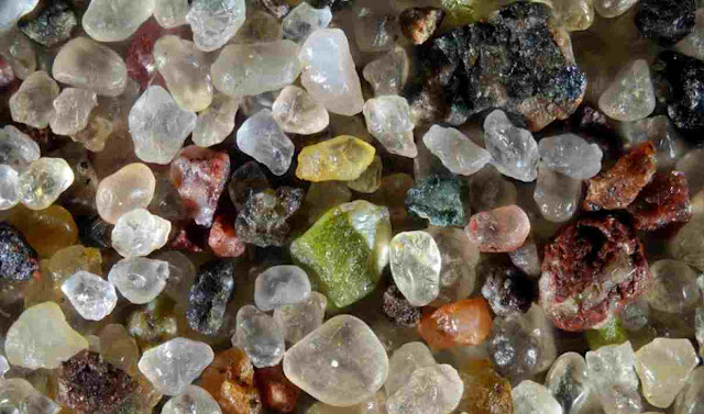 Sand Looks Magnified Up To 300