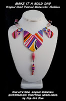 http://popartdiva.blogspot.com/2017/09/fun-contemporary-original-hand-painted-paper-necklace-jewelry-purple-magenta-orange.html