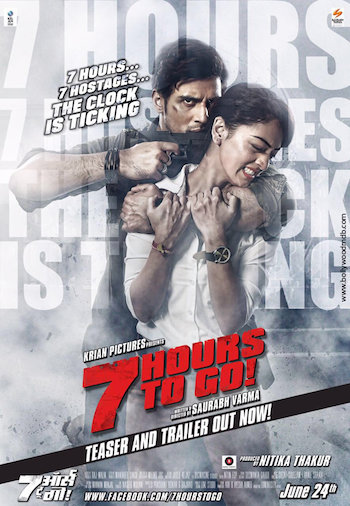 7 Hours To Go 2016 Hindi 480p DVDRip 300mb