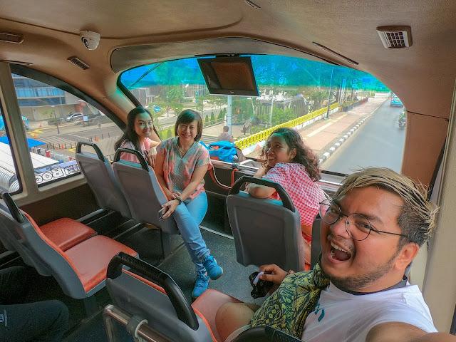bus tingkat gratis jakarta