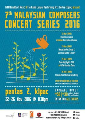 7th Malaysian Composers Concert Series 2016