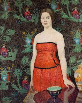 Emma Fordyce MacRae - Roland in Red