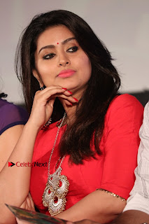 Actress Sneha Latest Stills in Red Dress at Simba Audio Launch  0008.jpg