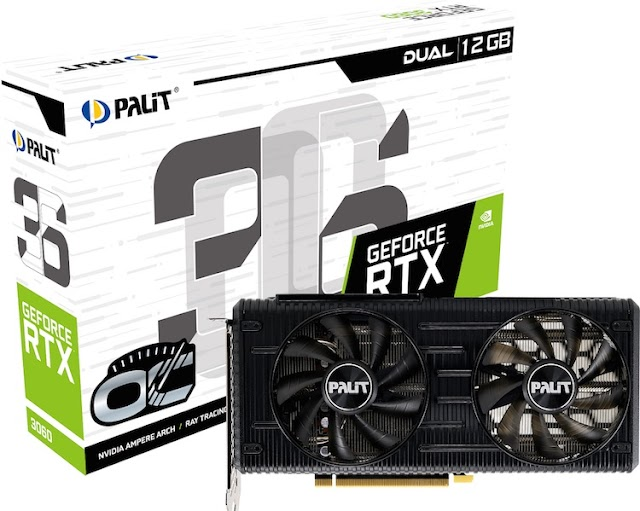 Palit introduced the GeForce RTX 3060 Dual and StormX video cards