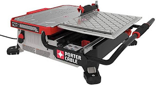 Porter-Table Top Wet Tile Saw