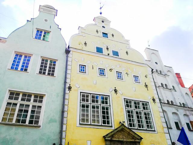 Trzej Bracia; Ryga; Łotwa; Latvia; Riga; city