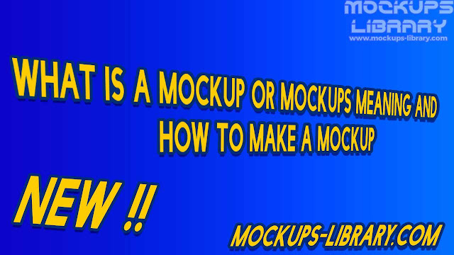 what is a mockup