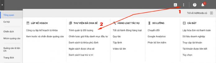 Cài Remarketing tag trên giao diện mới bằng Tag Manager