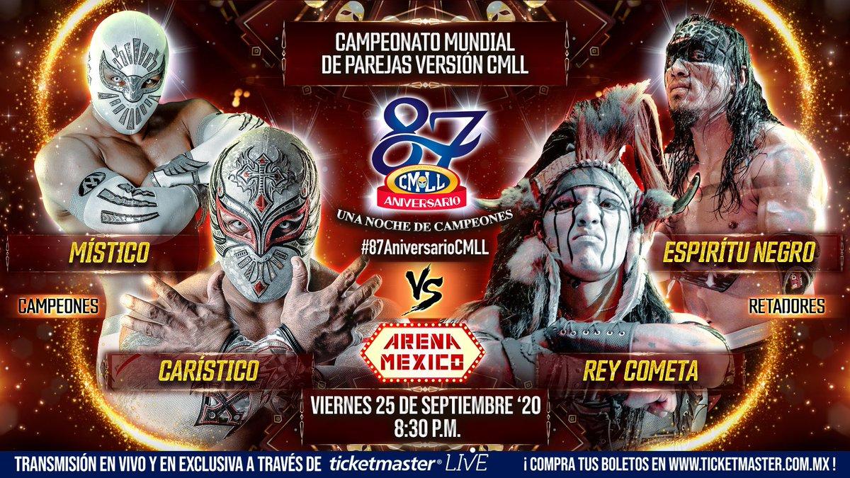 Cobertura: CMLL 87th Anniversary Show – Noite de festa!