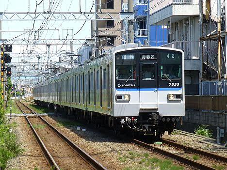 【運行終了!】新7000系の各停 海老名行き