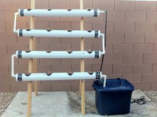 sistem instalasi hidrponik