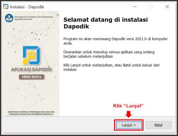 Cara Instal Patch Dapodik 2021.b