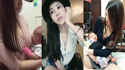 Mamah Muda Cantik Asal Taiwan Ini Mendadak Tenar di Sosial Media
