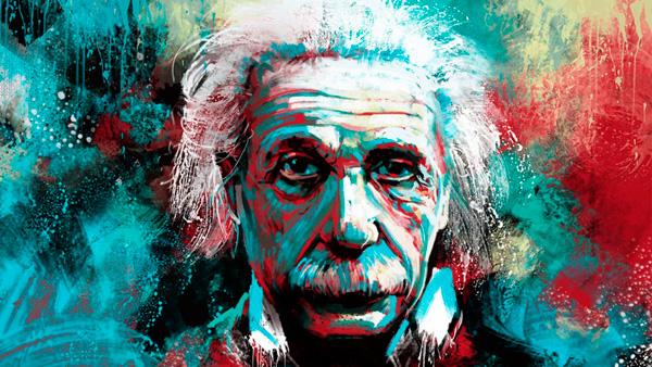 Albert Einstein Dibujo