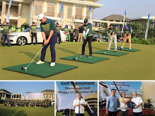 Bank BJB golf tournament