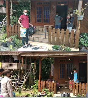 Ketua MR kecamatan Selayar  Berikan Sembako ke Warga Terdampak Covid-19