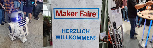 R2D2 auf der Maker Faire Hannover 2019