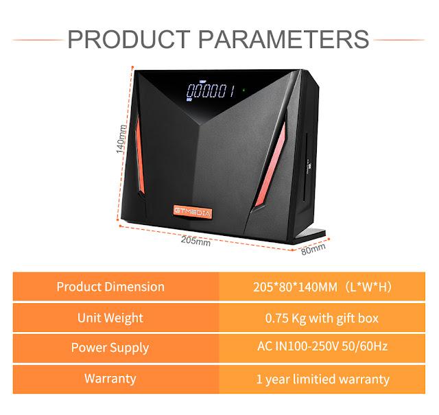 GTMEDIA V8 UHD Combo Set Top Box DVB-S2/T2/C/ISDB-T/ATSC 4K Full HD 1080P H.265 TV Receiver