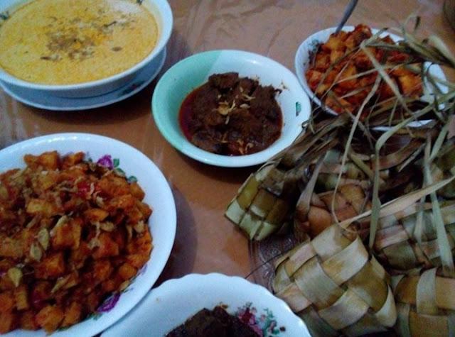 Hidangan Idul fitri