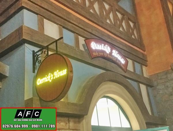 Thi công bảng hiệu quảng cáo Phú Quốc