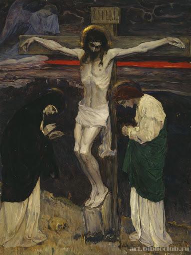 Mikhail Vasilievich Nesterov, Crucifixión (1908)