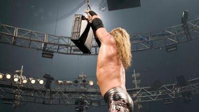 WWE WrestleMania 21 Money in the Bank ladder match winner Edge