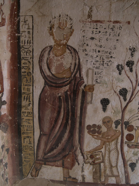 Paintings from the tomb of Petosiris at Muzawaka (XXXI)